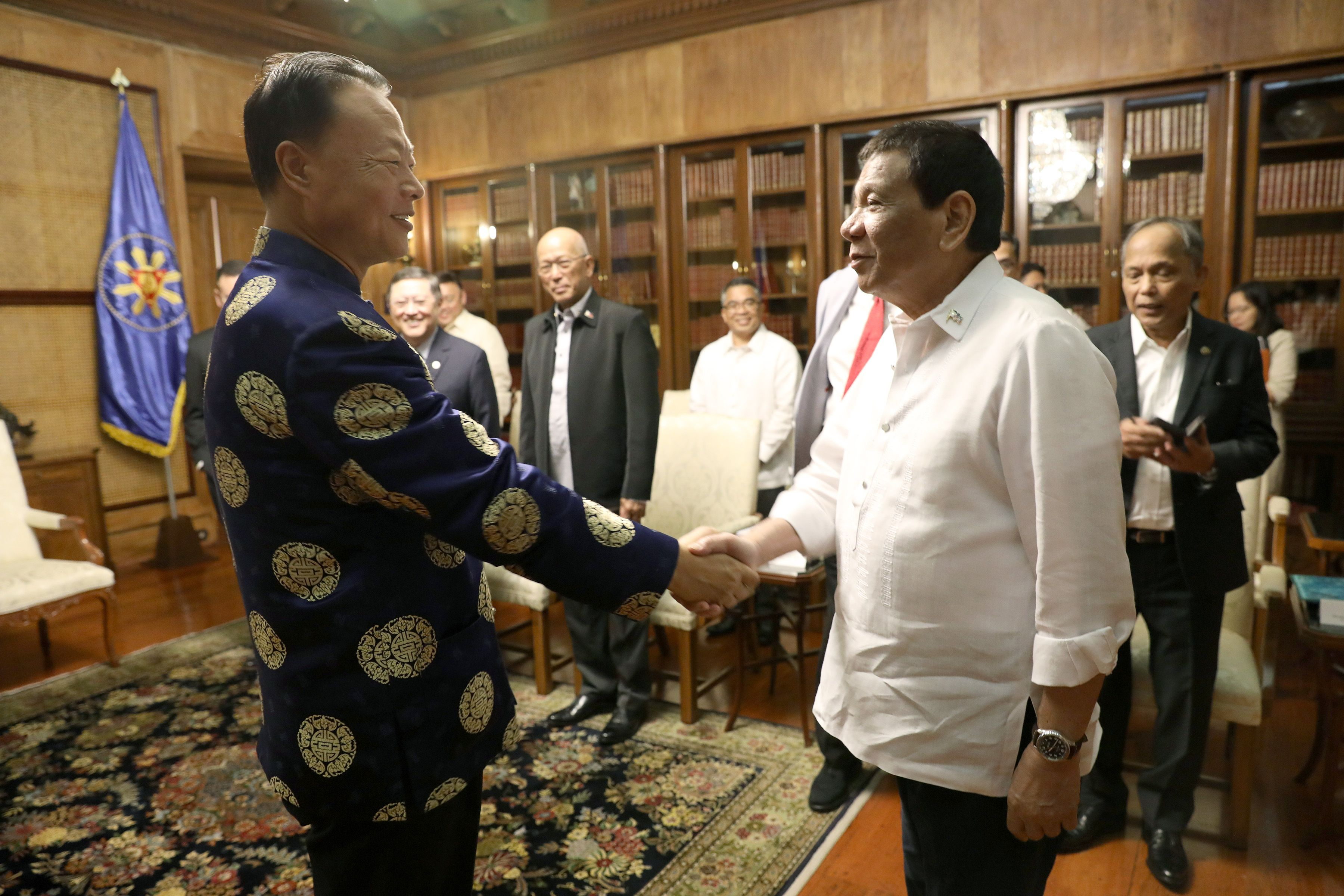 Ambassador Zhao Jianhua Meets with President Duterte