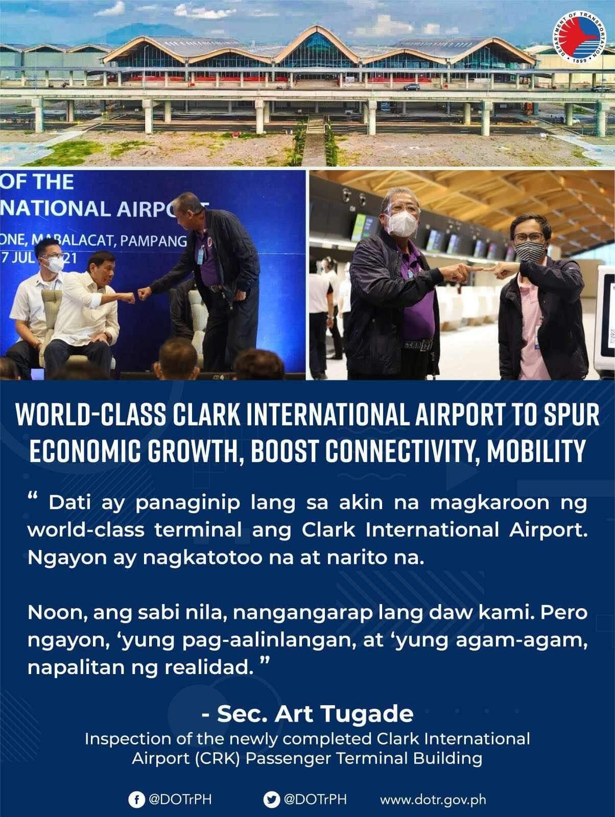 Clark International Airport, a realized dream