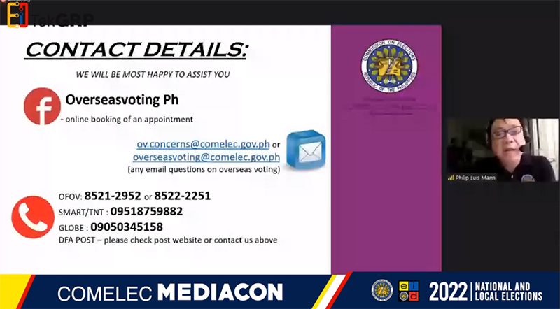 2nd COMELEC MediaCon: Updates on Overseas Voting