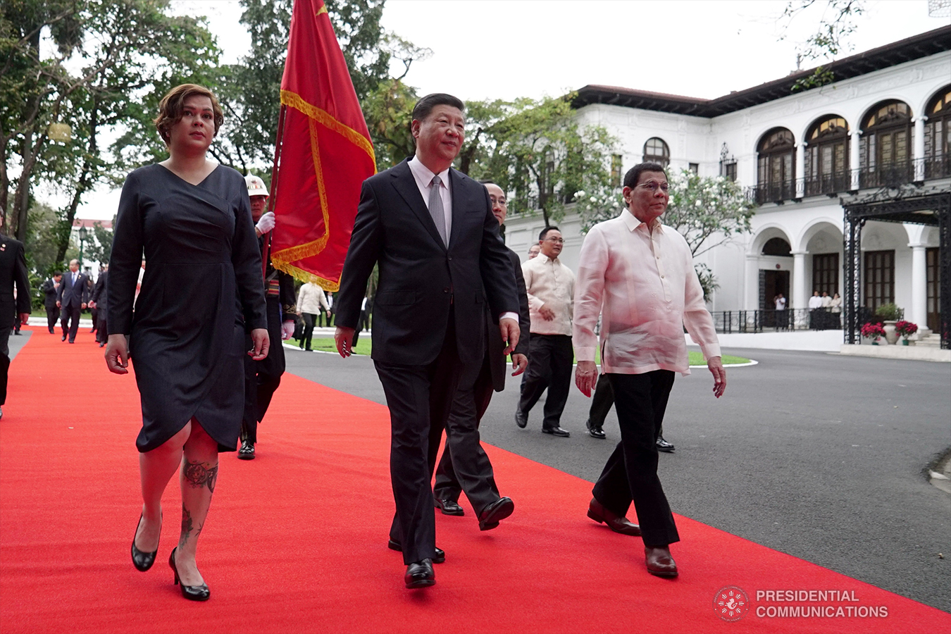 President Duterte welcomes Chinese President Xi Jinping in Historic PH state visit