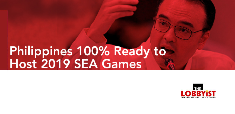 Philippines 100% Ready to Host 2019 SEA Games