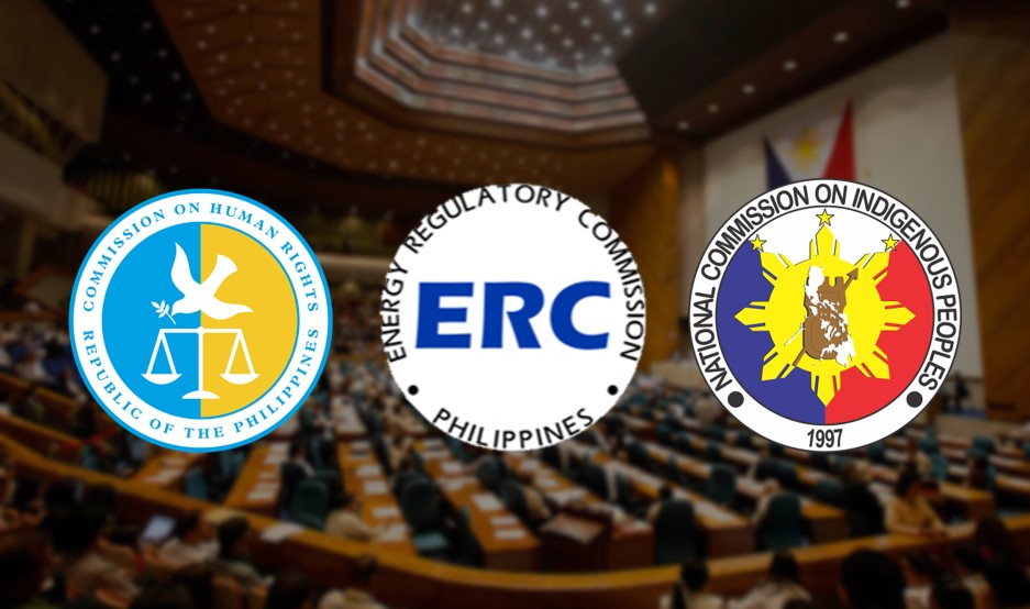 House restores the budget for CHR, ERC, NCIP