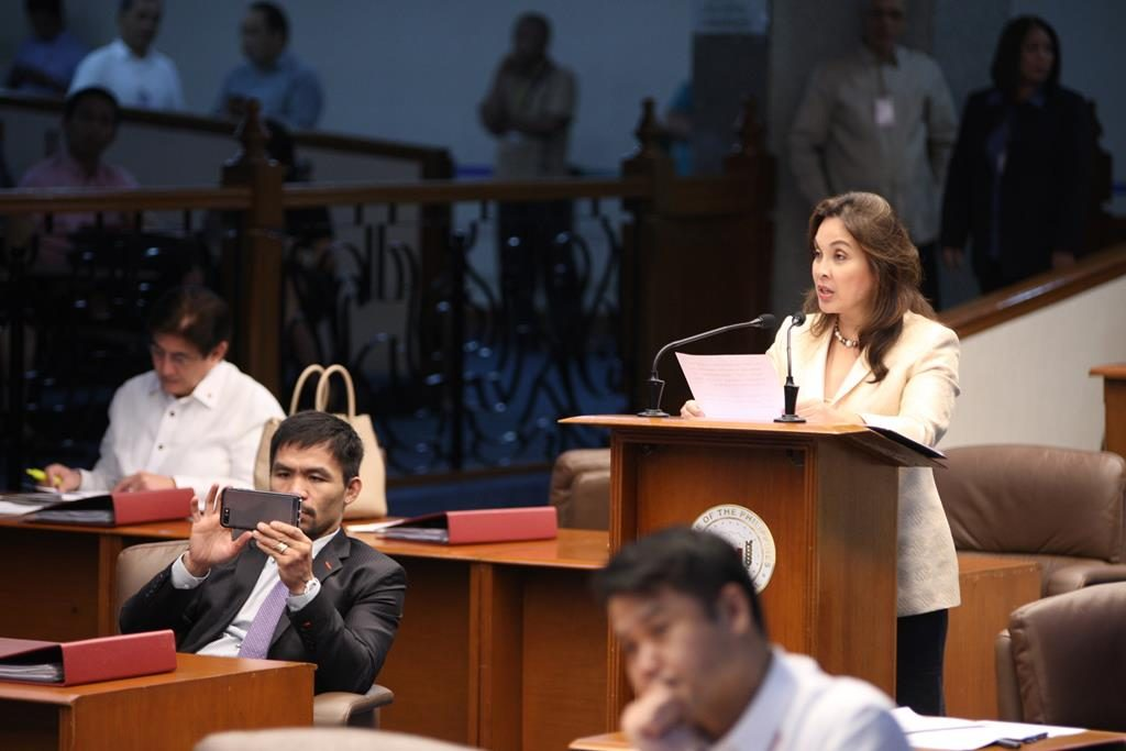 Senator Legarda's Sponsorship Speech on the 2018 GAB