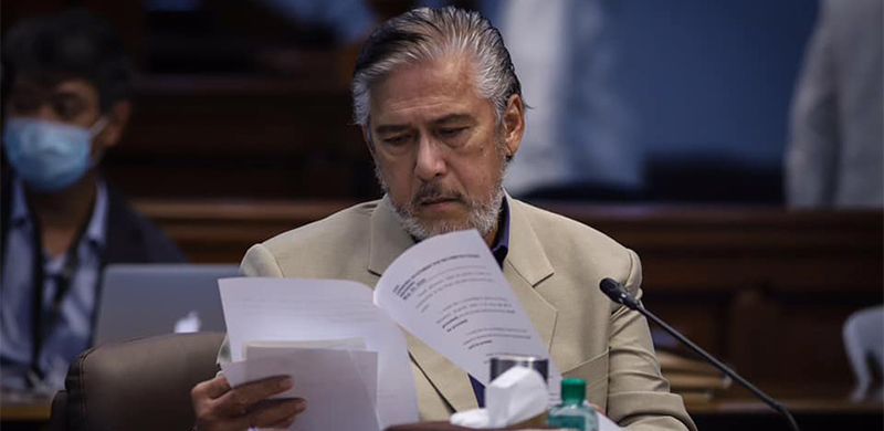Senate President Vicente III lays out priority bills