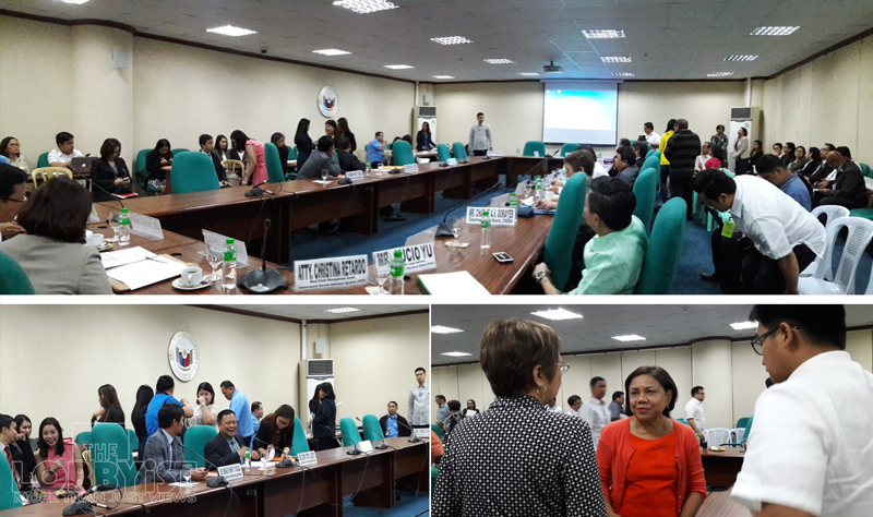 Several senate bills on the establishment of the Department of Housing and Urban Development (DHUD) were reviewed during a Senate hearing of the Committee on Urban Planning, Housing and Resettlement. The joint hearing was attended by representatives from key shelter agencies and social security institutions.