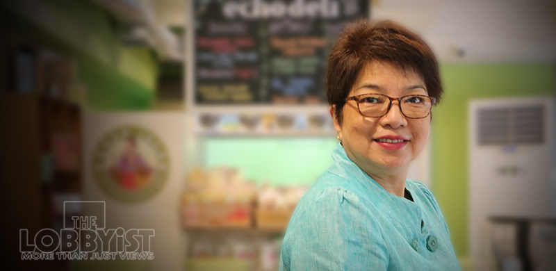 "ECHOstore owner Pacita ""Chit"" Juan is not just a leader in the coffee industry and sustainable lifestyle – she is also a leader in ensuring that women have a real voice in all aspects of society."