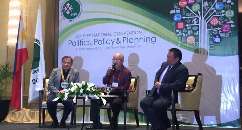 Various versions of 4Ps were presented at the 25th annual gathering of urban and environment planners last November 8-9, 2016 at the Dusit Thani Hotel, Makati City.