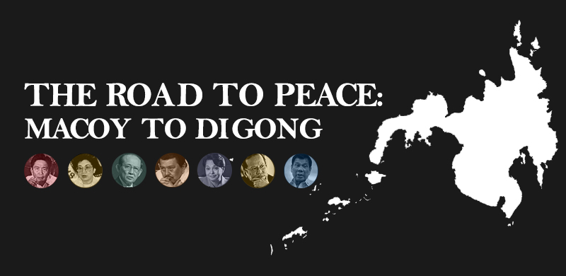 The Road to Peace: From Macoy to Digong