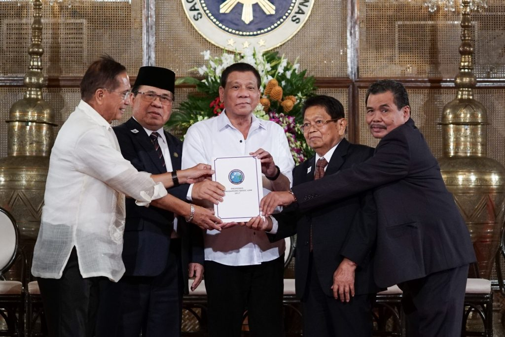 President Duterte receives new BBL draft a week before his SONA