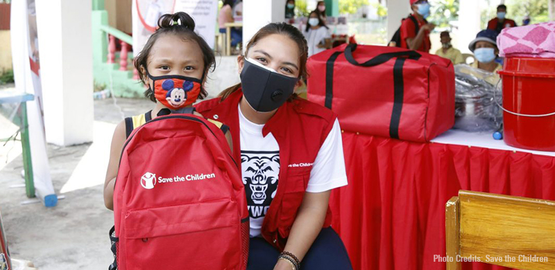 Ria Atayde, Save the Children aid 3,300 typhoon-stricken households in Catanduanes with lifesaving essentials