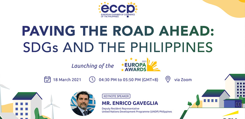 ECCP's Paving the Road Ahead: SDGs and the Philippines Webinar Calls for the Participation of Government and Private Sectors to Realign with SDG Targets