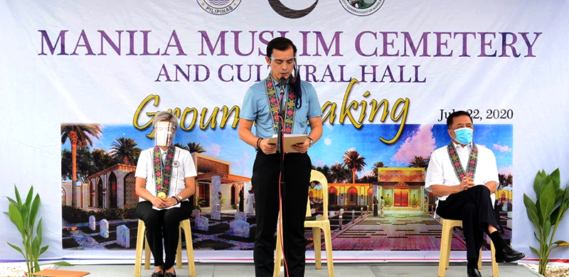 Manila City starts building its first Muslim Cemetery