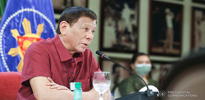 """""""Let Us Help One Another"""" - PRRD"""